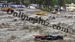 Heavy Flood Hits Kashmir