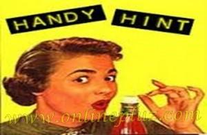 USEFUL HANDY HINTS