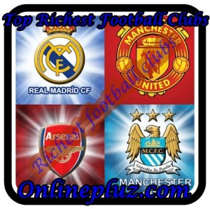 Top Richest football Clubs