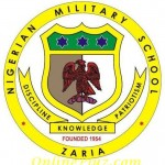 Nigerian Military School Admission Form for 2015/2016 Academic Session is Out.
