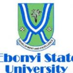 2015/2016 EBSU Postgraduate Admission is Out