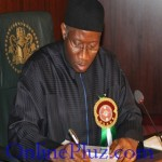 6 Bills Signed into Law by President Goodluck Jonathan