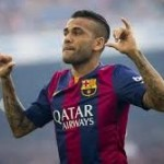 Barcelona announced Dani Alves new contract