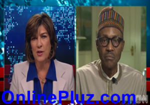 Buhari's Interview with CNN Christine Amanpour