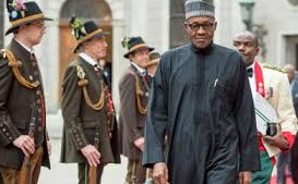 President Buhari Arrives Washington DC