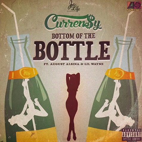 Curren$y feat. August Alsina & Lil Wayne – 'Bottom of the Bottle'