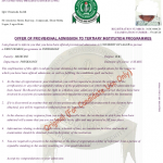 Obtain Your Original JAMB Admission Letter (Official)