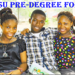 EBSU PRE-DEGREE FORM FOR 2015/2016 SESSION IS OUT