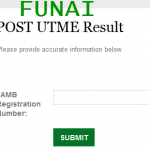 FUNAI POST-UTME 2015/2016 Result is out – www.Funai.edu.ng