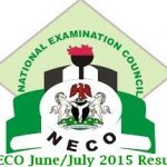 2015 NECO June/July Result – www.mynecoexam.com