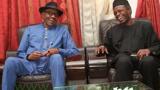 Nigerian President and His Vice Osinbajo