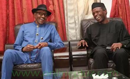 Nigerian President and His Vice Osinbajo