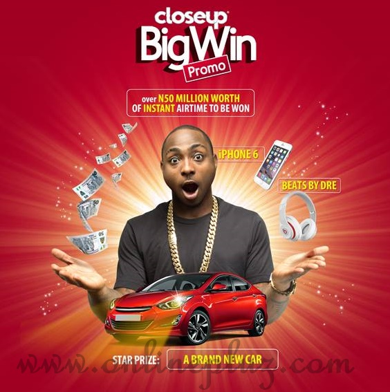 Closeup Big Win Promo 2015