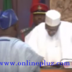 Video: Buhari Swears in New Minister