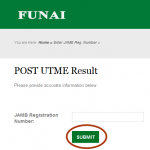 Funai Supplementary Post Utme Result is Out