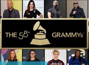 2016 Grammy Awards Nomination List