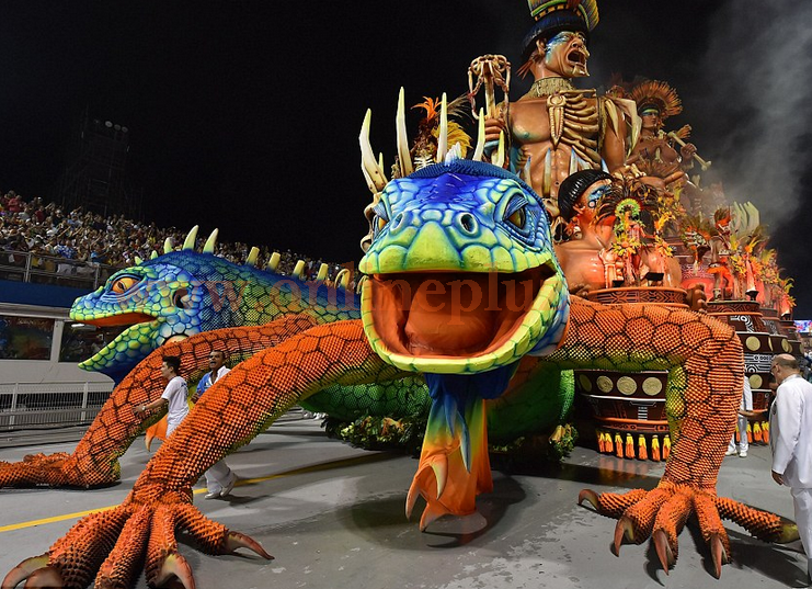 Photos Of Brazil's Rio Carnival