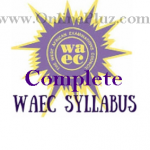Download Complete Waec Syllabus For All Subjects (Updated)