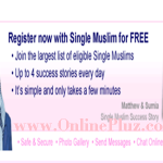 Single Muslim Registration – Meet Single Muslim At singlemuslim.com