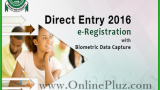 Jamb Direct Entry 2016 Registration