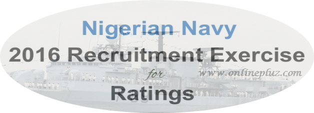 Nigerian Navy 2016 Recruitment