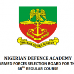 NDA 2016 Shortlisted Candidates For Interview – www.nda.edu.ng