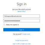 Outlook.com Sign In | Ms Outlook mail Login