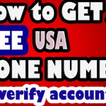 How To Get Free United State Virtual Phone Number To Verify Account