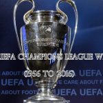 Past UEFA Champions League Winners (1956 to 2016)
