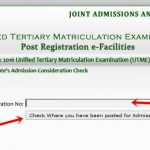 www.jamb.org.ng – JAMB Portal To Check Admission Status For 2016 Session