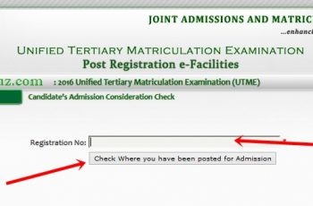 JAMB Portal To Check Admission Status