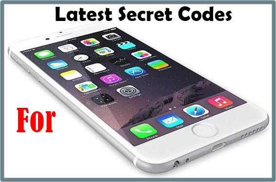 Latest secret codes for iphone