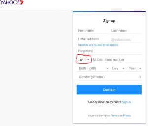 www.au.yahoo.com - Sign Up Yahoo 7 Account, Create Yahoo Account Australia