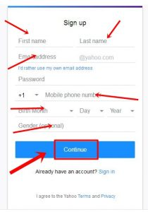 www.yahoomail.com Ymail Sign Up | Ymail Login Yahoo Mail