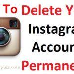 How to Delete Instagram Account |  Deactivate Instagram Account | Steps To Delete My Instagram