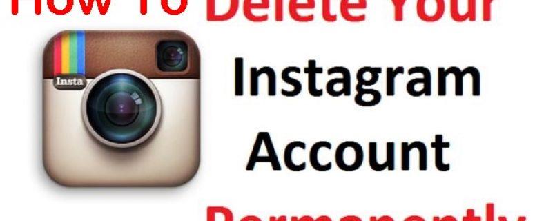 How to Delete Instagram Account | Deactivate Instagram Account