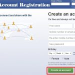 New Facebook Account Registration Form | www.facebook.com Sign Up Form | Login Facebook Account
