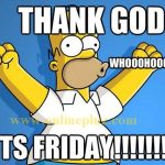 Thank God It's Friday! Where Every Thing Goes