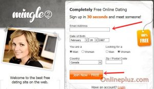 Mingle2 Free Dating Registration