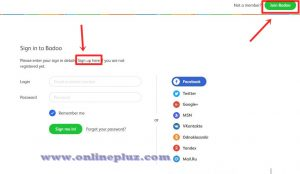 Create Badoo Account On www.Badoo.com Sign up - Badoo Registration