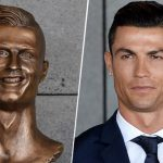 Check Out Cristiano Ronaldo Statue As Sculptor Responds to Criticism