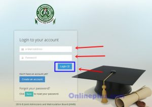 Create Jamb Profile on Jamb Portal
