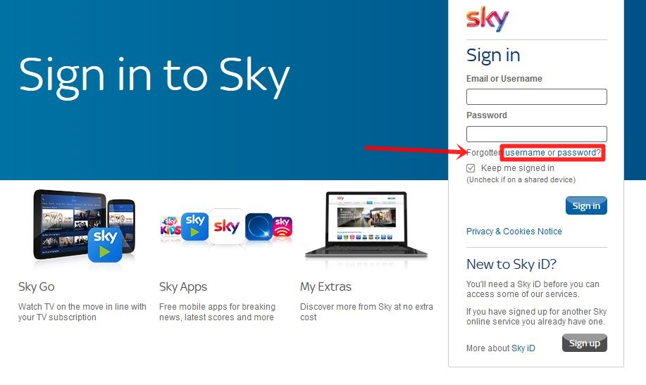 Sky Email Login