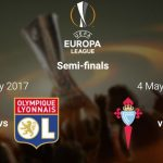 UEFA Europa League 2017 Semi-final Draw Features | Man Utd Draw Celta Vigo