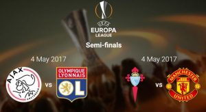 UEFA Europa League 2017 Semi-final Draw