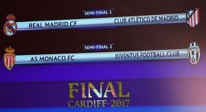 UEFA Champions League 2017 Semi-Final Draw