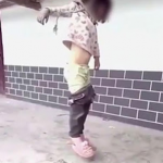 Bizarre! 8 Year Old Chinese Girl Hung By Father
