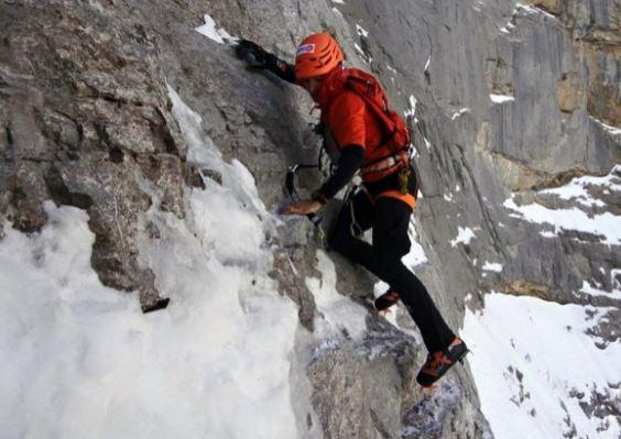 Rock Climber Ueli Steck