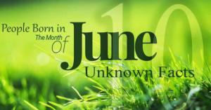 Born In June