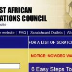WAEC Result Checker 2017 Site – www.waecdirect.org